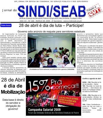 Março de 2009 - SindiSeab