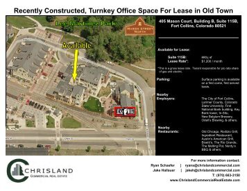 Recently Constructed, Turnkey Office Space For Lease in Old Town