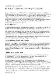 En studie av bostadsinbrott ur tjuvens perspektiv
