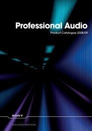 Download Datasheet - WTS Broadcast