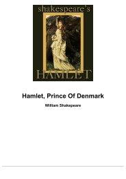 Hamlet, Prince Of Denmark - Click A Tutor