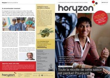 Palestine - Horyzon