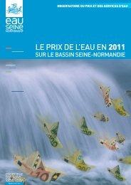 Le prix de L'eau en 2011 - Agence de l'Eau Seine Normandie