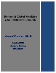 Awareness of Post Graduate Residents regarding Medical ... - IOMC