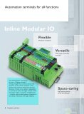 Inline – The IP20 I/O system for the control cabinet - Phoenix Contact - Page 4
