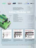 Inline – The IP20 I/O system for the control cabinet - Phoenix Contact - Page 7