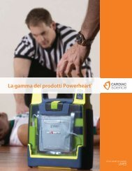 La gamma dei prodotti Powerheart® - gd medical AG