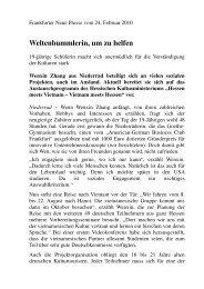 Frankfurter Neue Presse vom 24.02.2010
