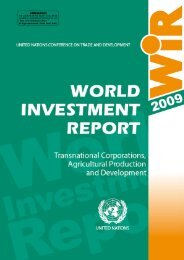 World Investment Report 2009: Transnational Corporations - Unctad