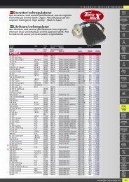 Ensretter/voltregulatorer Likriktare/voltregulator - Masi-Import