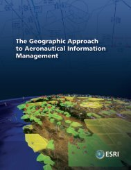 GIS for the Aeronautical Industry - Esri