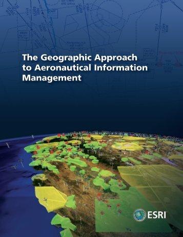 GIS for the Aeronautical Industry - Esri