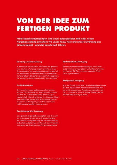Gummi- und Kunststoffprofile - Roller Belgium