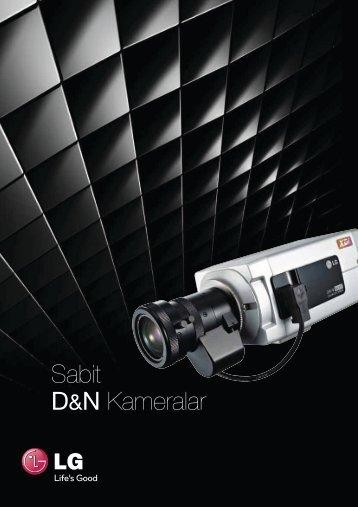 Sabit D&N Kameralar - LG Cctv