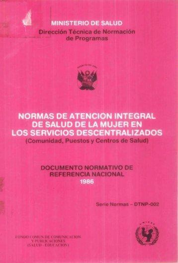 1 - Bvs.minsa.gob.pe - Ministerio de Salud