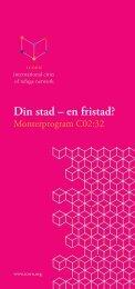 Läs mer om ICORN:s program - Statens kulturråd