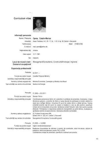 CV Oprea M.pdf - Nuclearelectrica