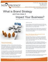 What is Brand Strategy and how does it Impact Your Business?