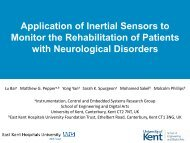 Application of Inertial Sensors to Monitoring Rehabilitation Training