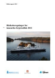 Last ned og les hele rapporten her - Sjøfartsdirektoratet