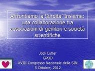 Jodi Cutler - Informazione