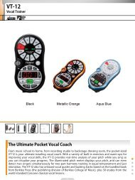 The Ultimate Pocket Vocal Coach - Roland