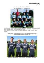 U15 C3-Junioren - FC Stätzling