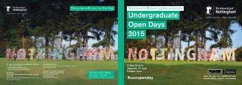 uon-open-day-2015