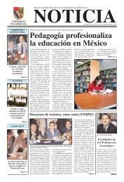 Pedagogía profesionaliza la educación en México - Universidad ...