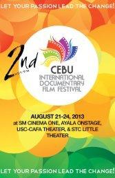2013 CIDFF Market Guide - Cebu International Documentary Film ...