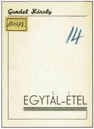 EGYTÁL-ÉTEL