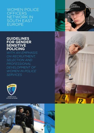 The Guidelines for Gender Sensitive Policing with an ... - SEESAC