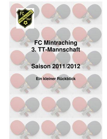 Sammlung der Spielberichte DIE HINRUNDE - FC Mintraching