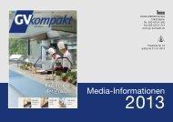 Mediadaten 2013 von GV-kompakt (PDF)