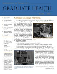1 CGHS Fall 06 copy.indd - The University of Tennessee Health ...