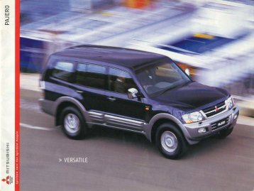 NM Pajero Sales Brochure