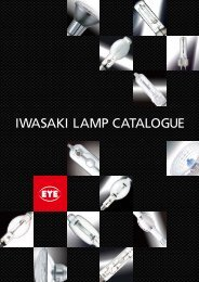 Download Catalogue (4.9Mb) - EYE Lighting