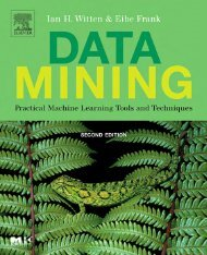 Data Mining: Practical Machine Learning Tools and ... - LIDeCC