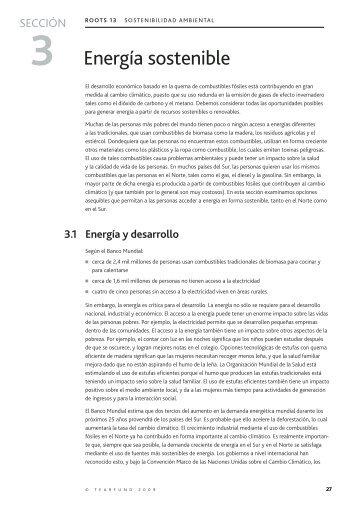 Energía sostenible - CubaEnergia