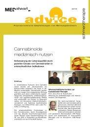 Cannabinoide medizinisch nutzen