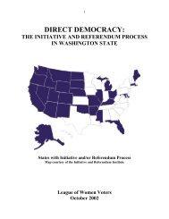 DIRECT DEMOCRACY: - Initiative and Referendum Institute