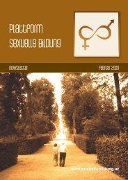 Newsletter Februar 2009 - Plattform sexuelle Bildung
