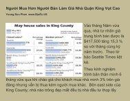 Người Mua Hơn Người Bán Làm Giá Nhà Quận King Vọt Cao Vào ...