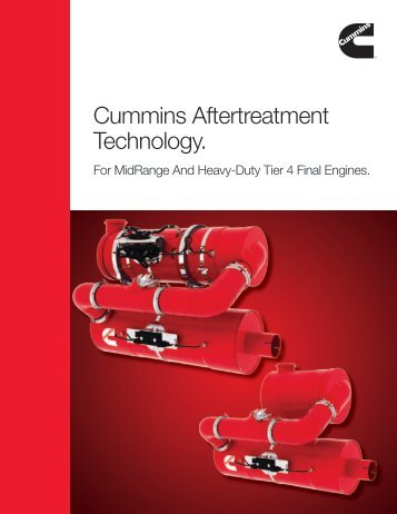Cummins Aftertreatment Technology. - Cummins Engines