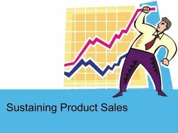 Sustaining Product Sales - iMAG