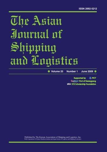 Multi Criteria Decision on Selecting Optimal Ship-01 - Ajsl.info