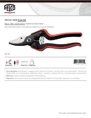 FELCO 160S Essentiel - Gartenscheren-Shop.de