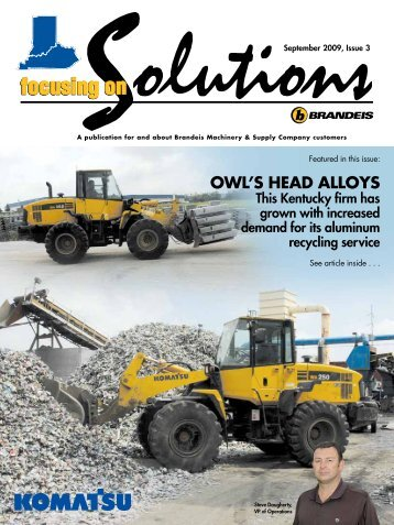 OWL'S HEAD ALLOYS - Brandeis Focusing on Solutions magazine