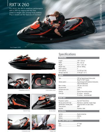 RXT™-X 260 - Sea-Doo.net