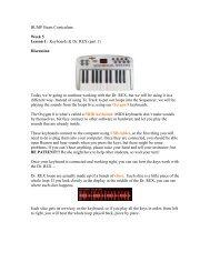 Keyboards & Dr. REX (part 1)